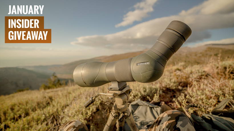 January Vortex Razor HD spotting scope giveaway