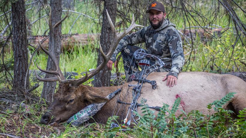 Jeff Roberts with his 2016 Washington archery bull elk