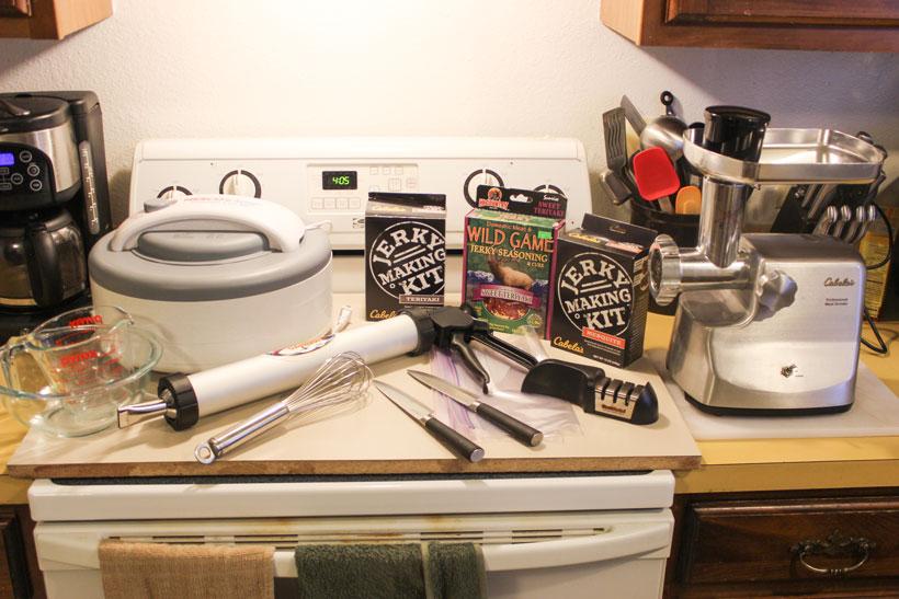Jerky making supplies
