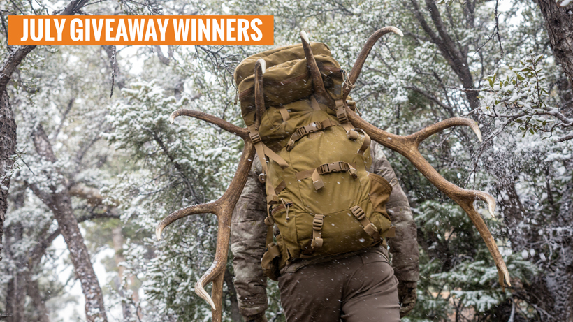 July Mystery Ranch Metcalf backpack giveaway winners