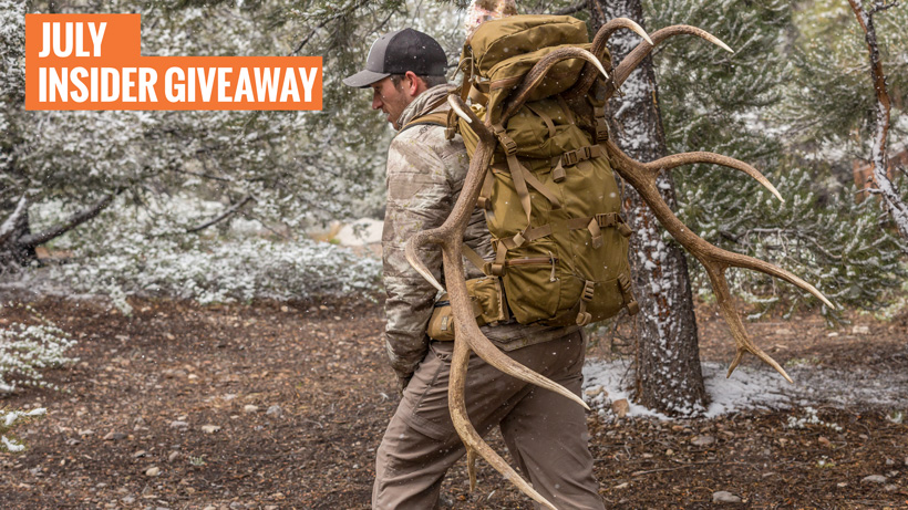 July INSIDER Mystery Ranch Metcalf backpack giveaway