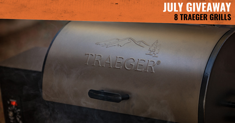 July gohunt INSIDER Traeger Grill giveaway