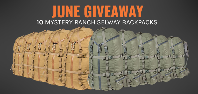 June INSIDER Mystery Ranch Selway backpack giveaway