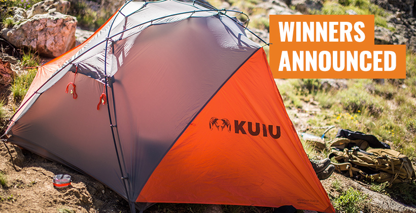 June KUIU tent winners