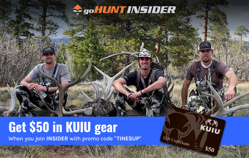 KUIU gift card when you join INSIDER