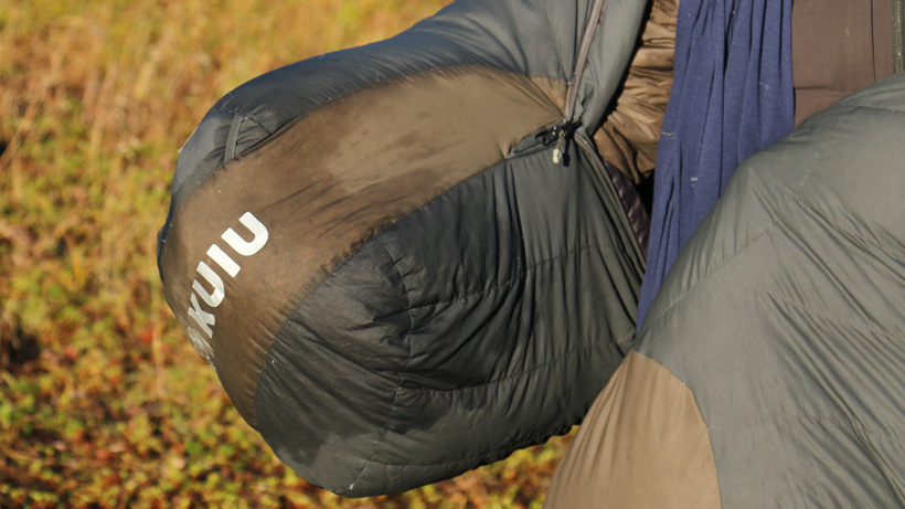 The KUIU Super Down sleeping bag
