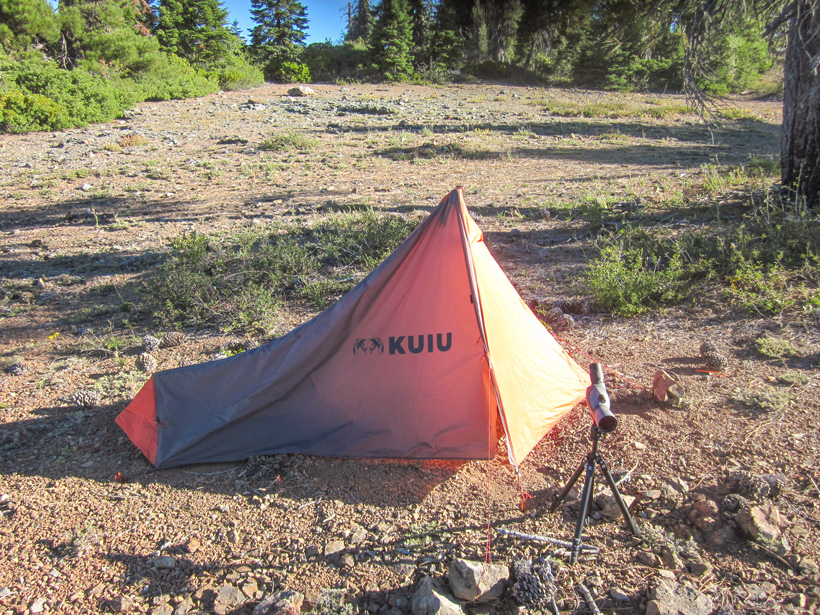 KUIU Ultra Star one person backcountry tent