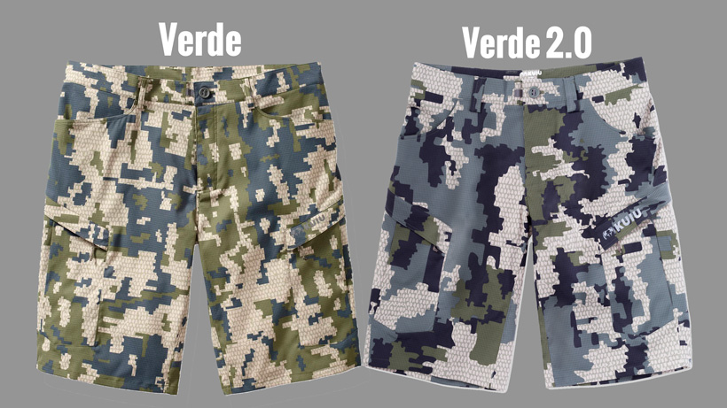 KUIU Verde compared to Verde 2.0