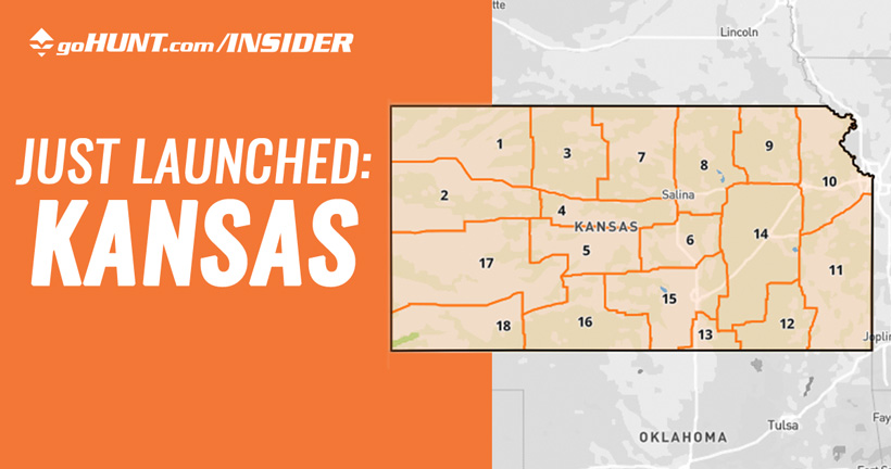 Kansas hunting research data now live on INSIDER