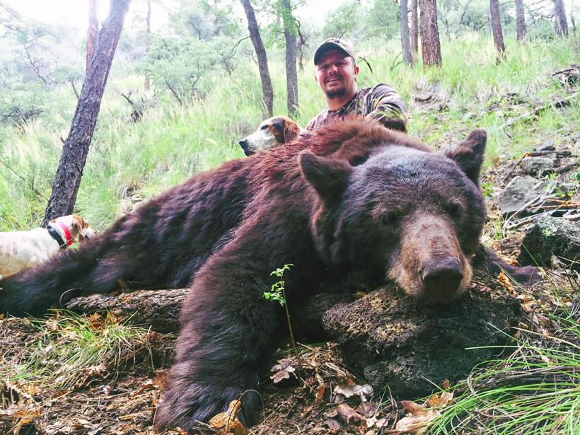 Kason Smith Utah black bear