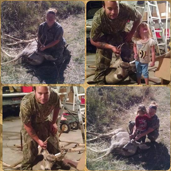 Kathryn Maddock mule deer buck