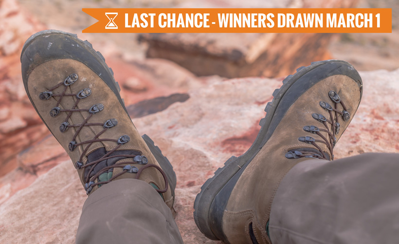 Kenetrek Mountain Extreme boot giveaway last chance
