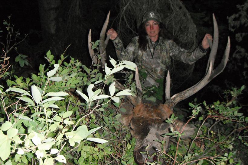 Kim Mills 2010 archery bull elk