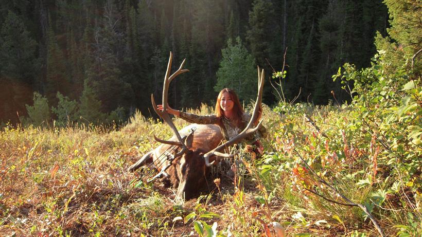 Kim Mills 2012 archery bull elk