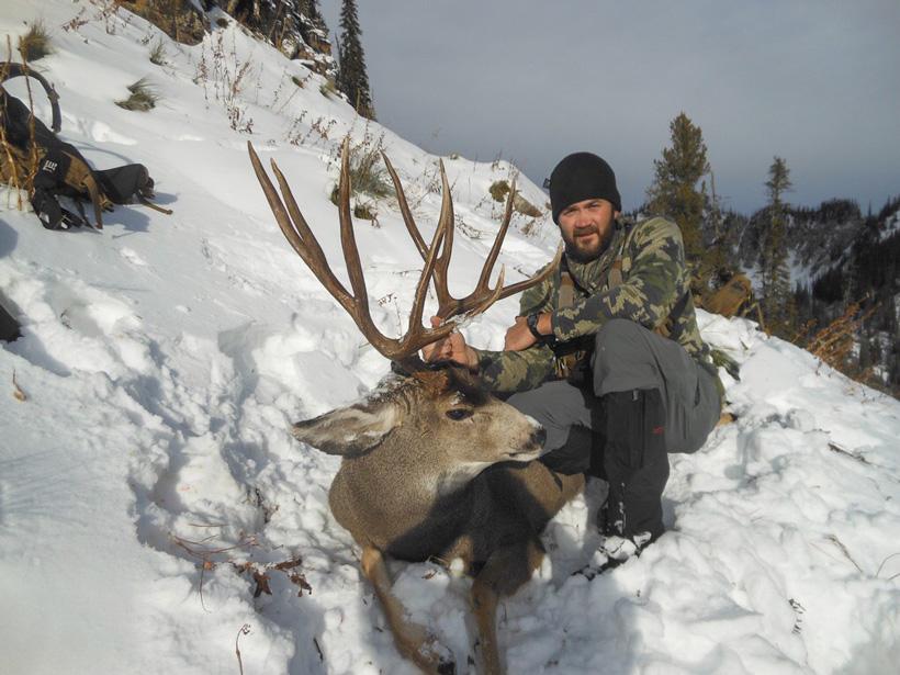 Kirk Russell with Montana Mule Deer