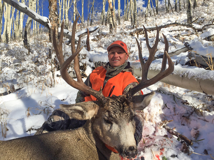 Kody Smith with his 2014 Colorado mule deer