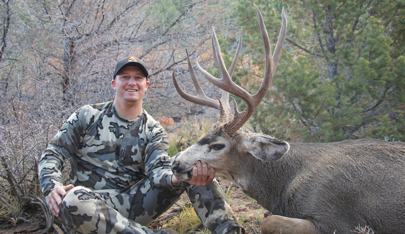 Kody Smith 2015 Utah mule deer buck