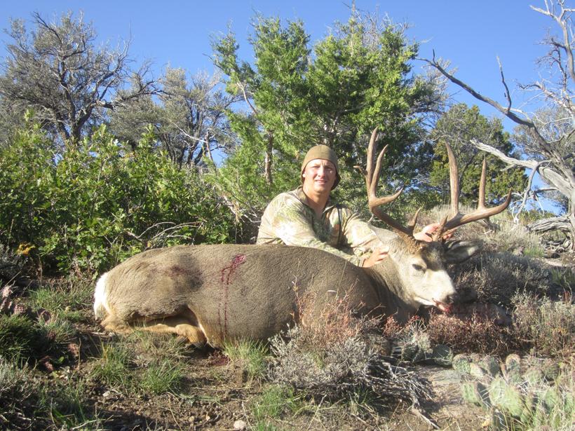 Kody Smith's mule deer buck