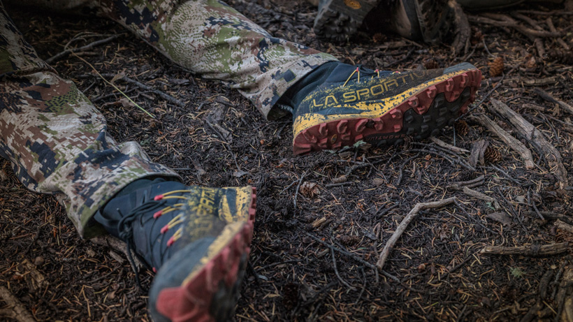 La Sportiva Uragano GTX shoes for hunting