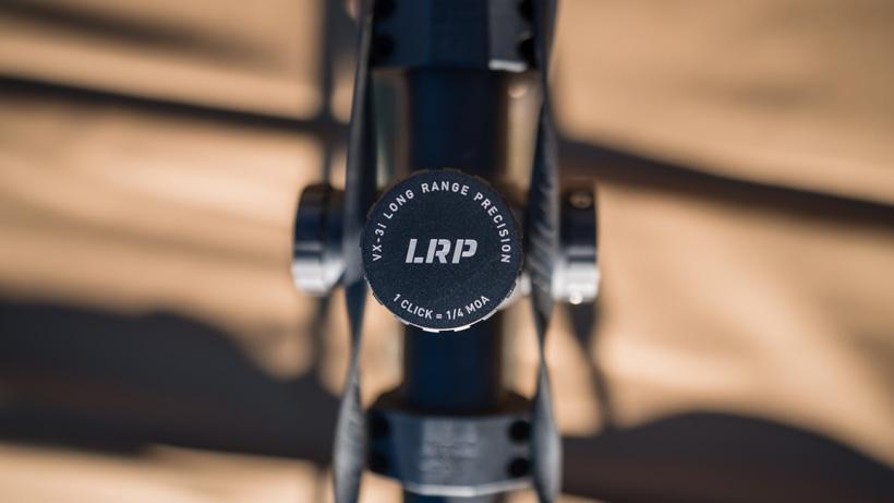 Leupold LRP rifle turret