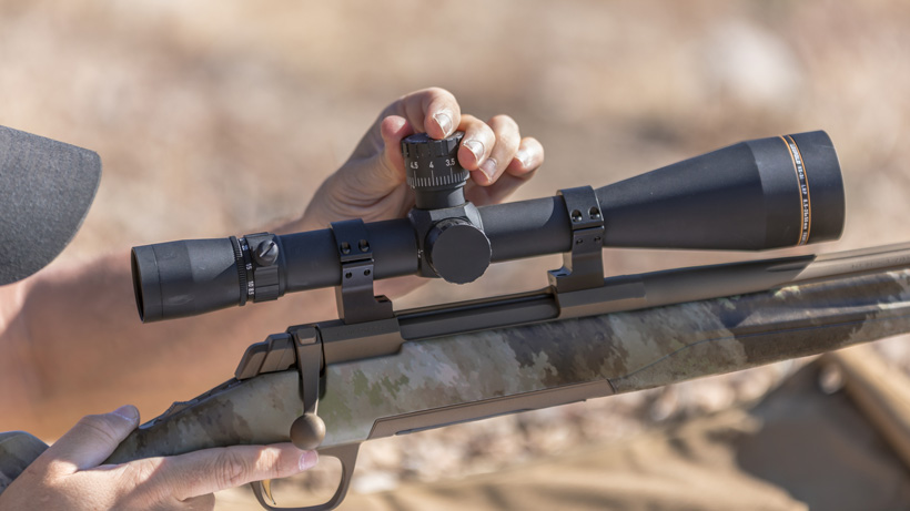 Leupold adjustable rifle turret
