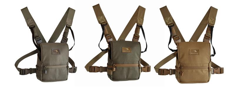Marsupial Gear Binocular Pack Color Options
