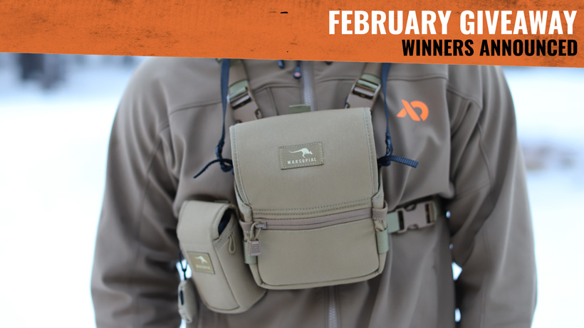 Marsupial Gear Binocular Pack winners announced