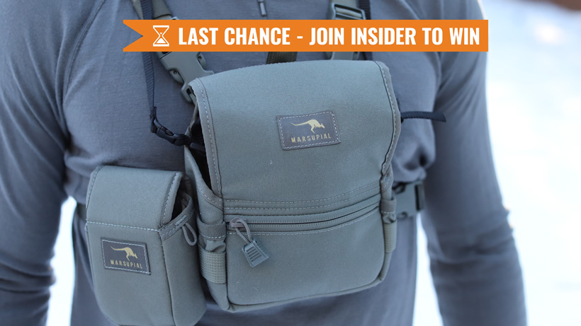 Marsupial Gear giveaway last chance