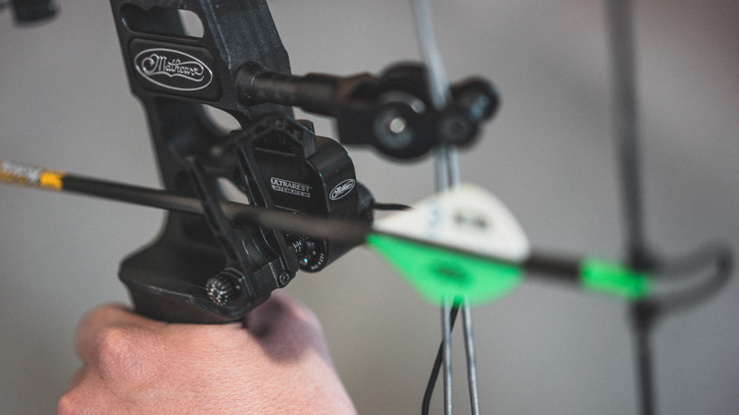 Mathews Ultrarest Integrated MX bow rest