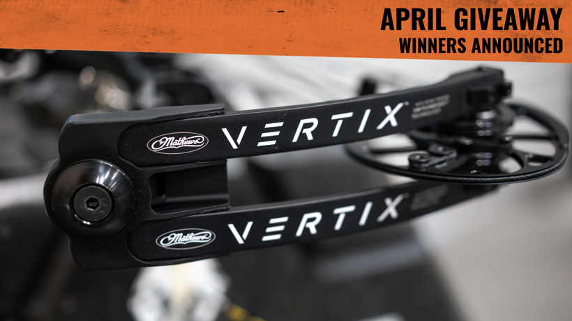 Mathews Vertix bow winners announced