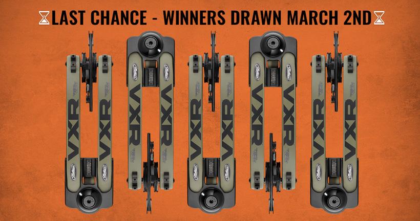 LAST CHANCE - Mathews VXR giveaway