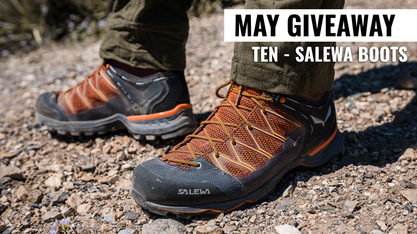 May INSIDER giveaway 10 Salewa Mountain Trainer Lite Mid GTX boots