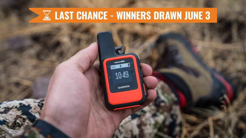 May INSIDER giveaway Garmin inReach Mini satellite messenger last chance