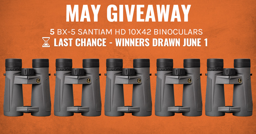 May Leupold INSIDER Giveaway last chance