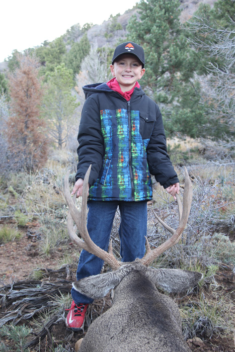 Mckoy with Kody Smiths Utah mule deer