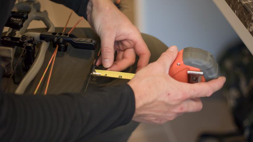 Measuring old d-loop position