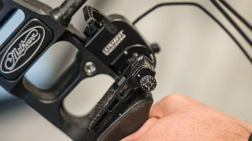 Micro adjust on Mathews Ultrarest