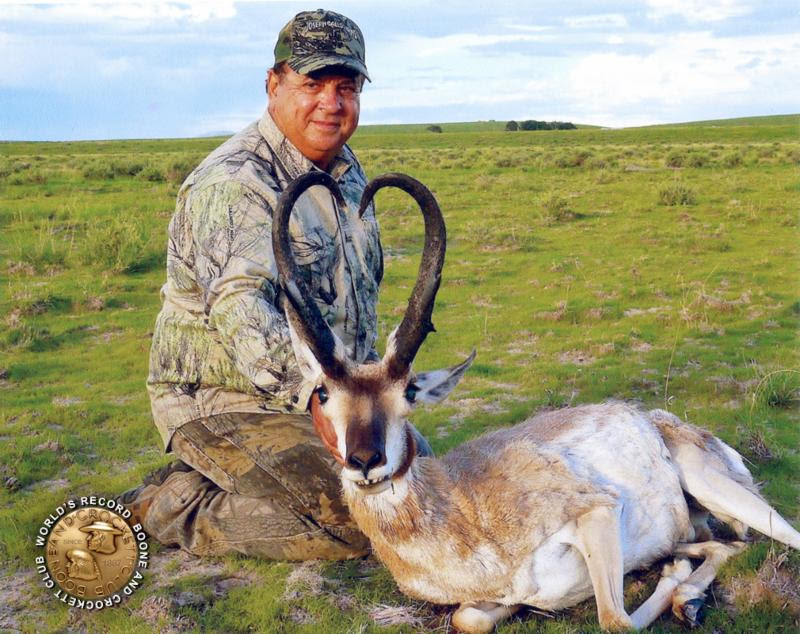 Mike Gallo World Record Antelope