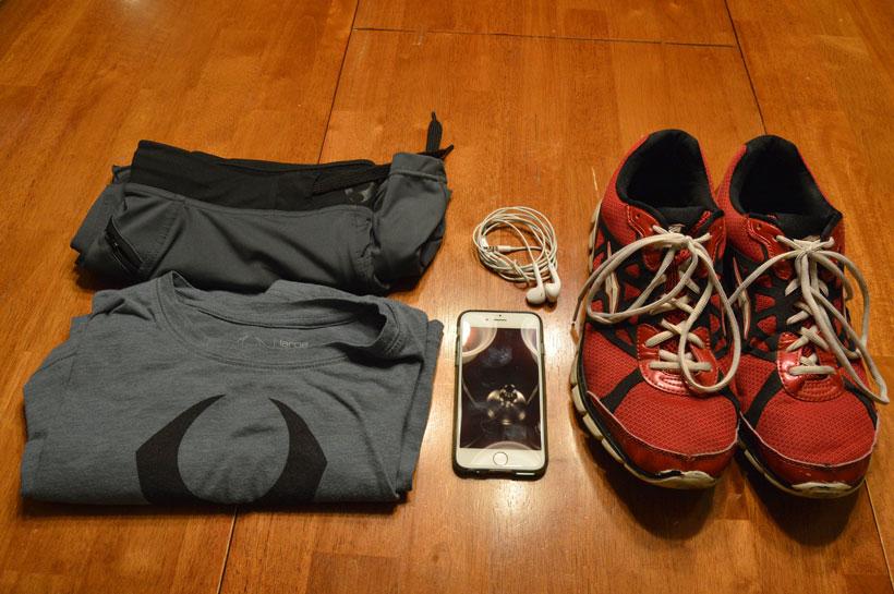 Minimal workout equipment