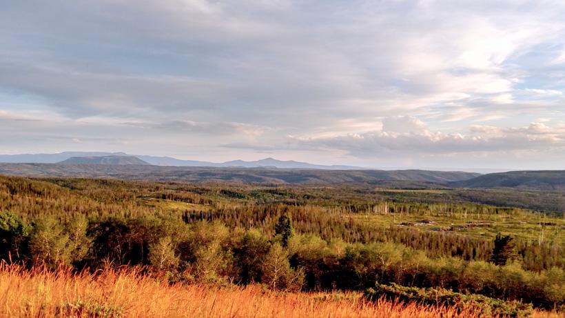 Montana hunting scenery