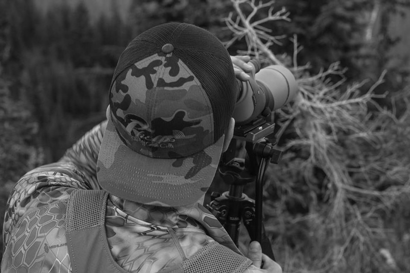 More glassing for elk with the spotting scope