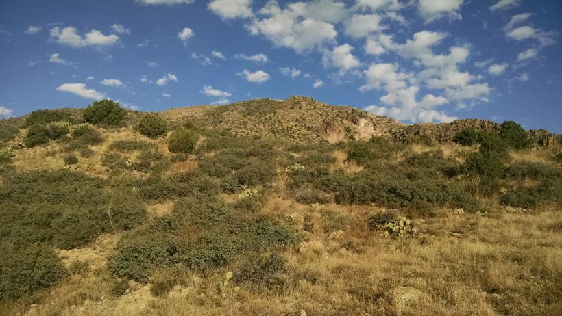 Arizona mountain scenery