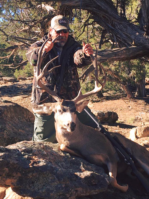 Mule deer taken with T and R Outfitting and Guide Service