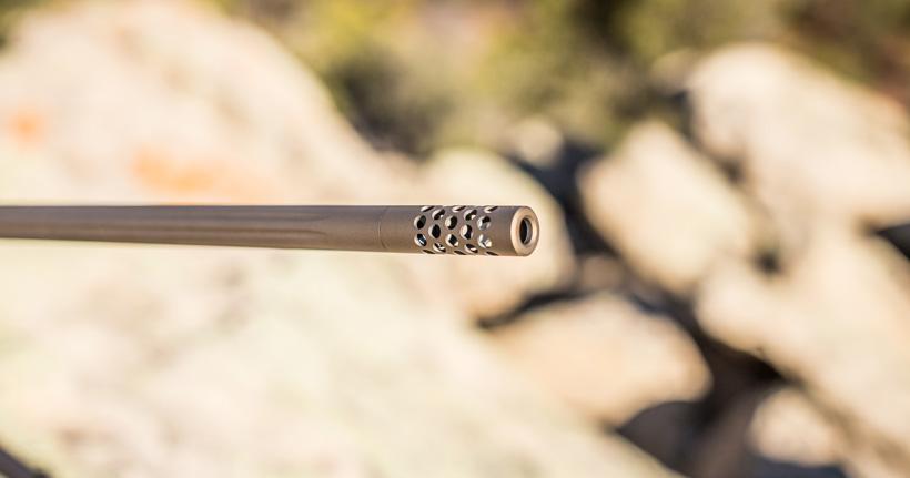 Muzzlebrake on Browning rifle