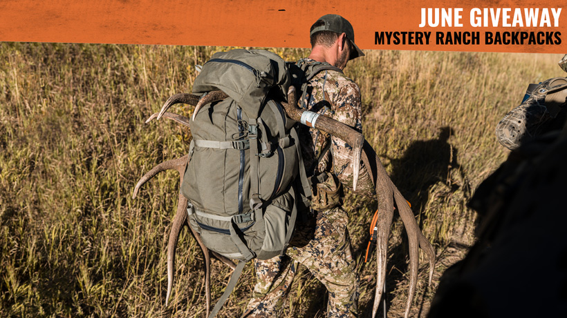 Mystery Ranch Beartooth 80 backpack giveaway