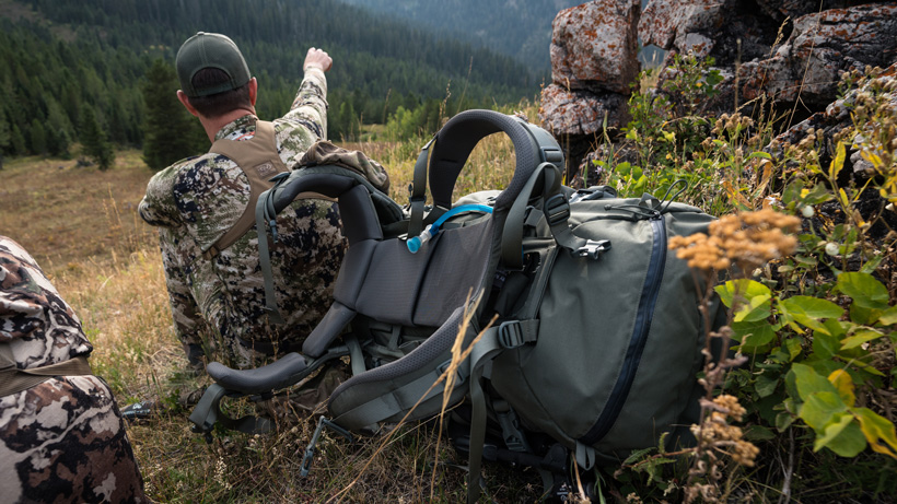 Mystery Ranch Beartooth backpack while elk hunting