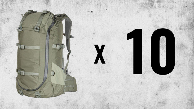 August INSIDER Giveaway: 10 Mystery Ranch Sawtooth 45 Backpacks