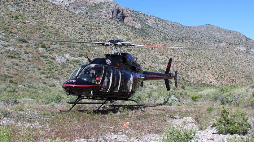 NDOW helicopter