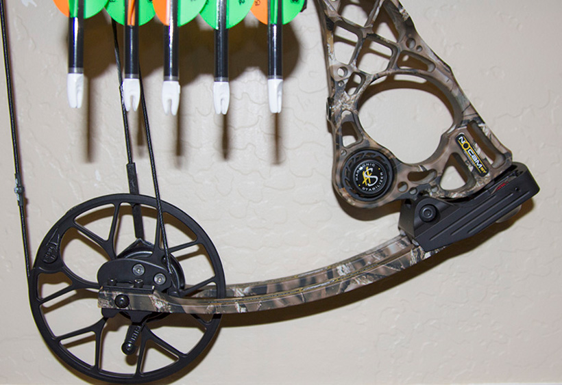 Mathews NOCAM bow closeup