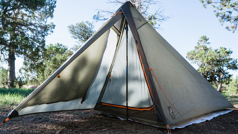 Nemo Spike Storm ultralight tent